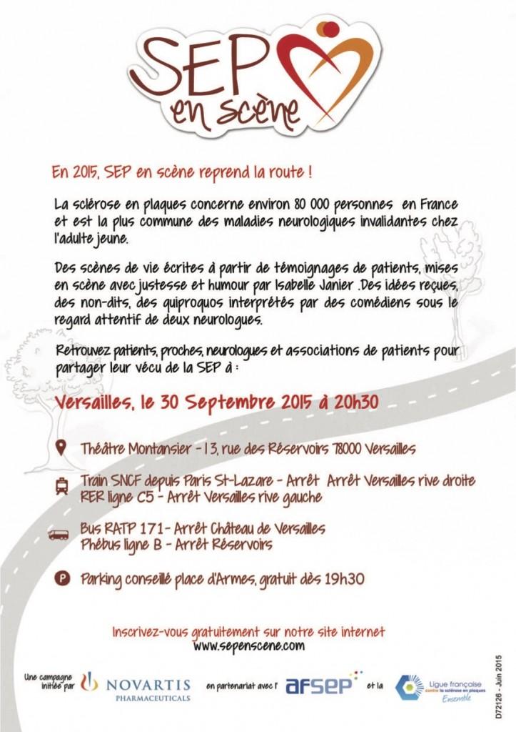 Flyer SEP en Scène Versailles 2